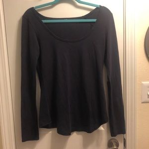 lululemon long sleeve scoop neck